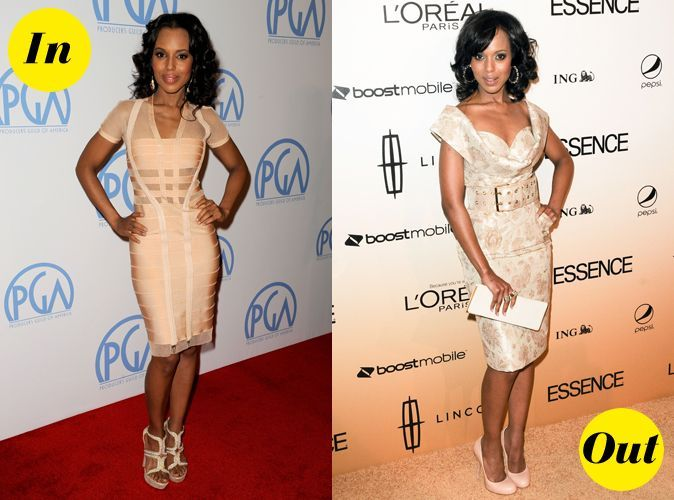 looks de kerry washington   d u00e9couvrez son fashion cv