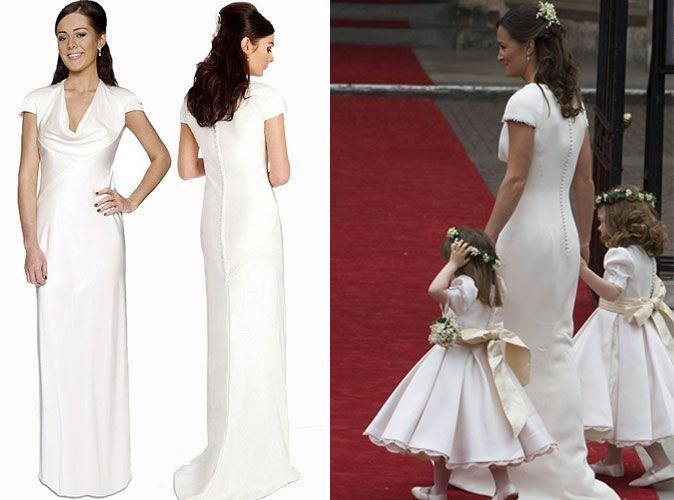 Mode  toutes les robes royales de Pippa et Kate Middleton à petits prix !