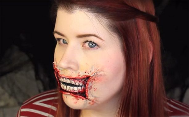 Vid o halloween les tutos make up les plus flippants - Tuto maquillage halloween ...