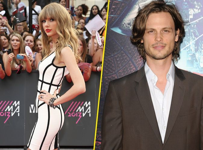 taylor swift en couple avec matthew gray gubler d 39 esprits criminels. Black Bedroom Furniture Sets. Home Design Ideas