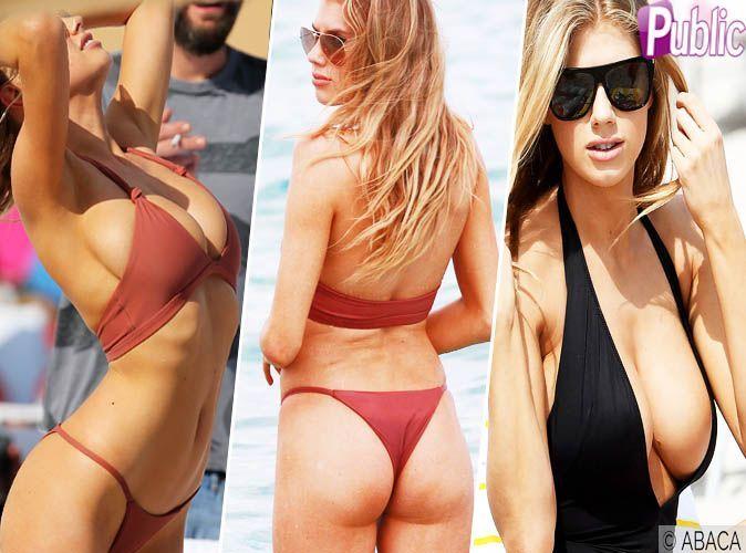 Photos kim et kourtney kardashian miami les deux soeurs se font remarquer - Charlotte de turckheim et ses filles ...