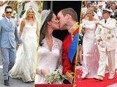 Rétro 2011 : les mariages de l'année !