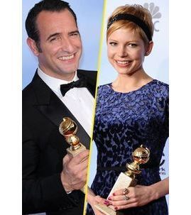 Photos : Golden Globes 2012 : Jean Dujardin, Michelle Williams, Kate Winslet...des récompenses comme s'il en pleuvait !