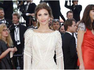 Cannes 2014 : Alexandra Rosenfeld : angélique et immaculée sur tapis rouge !