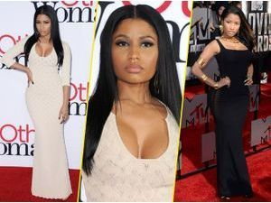 Mode : Nicki Minaj : focus sur son look nude !