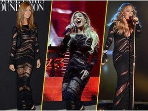 Mode : Zahia, Beyoncé, Mariah Carey... qui porte le mieux la robe Roberto Cavalli ?
