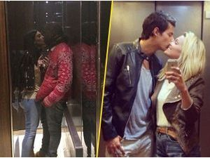 Caroline Receveur et Valentin Lucas : ils se la jouent Kim Kardashian et Kanye West dans l'ascenseur !