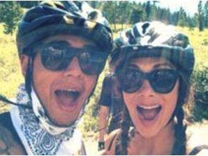 Nicole Scherzinger : selfie sportif pour la chanteuse et son chéri Lewis Hamilton !