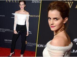 Photos : Emma Watson : élégante et stylée aux Britannia Awards !