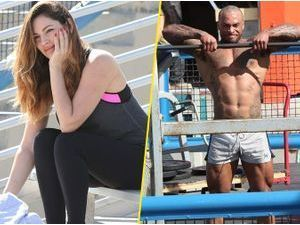 Photos : Kelly Brook : en extase devant son boyfriend super bodybuildé !