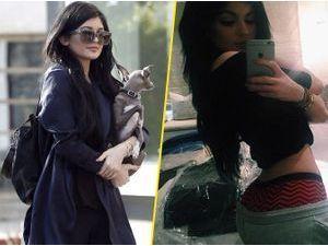 Photos : Kylie Jenner : elle range son booty pour une virée shopping avec Normie !