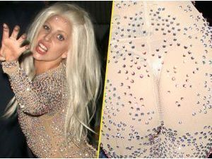 Photos : Lady Gaga : féline et à peine culottée pour se rendre à une after-party des American Music Awards !