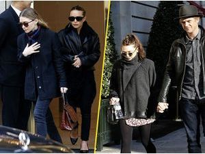Photos : Les sœurs Olsen : Mary-Kate, Ashley et Elizabeth réunies à Paris !