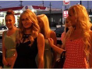 Exclu vidéo: Paris Hilton fait les boutiques avec les Ch'tis